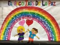 dia de la paz mural