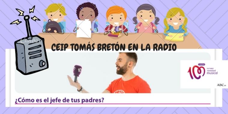 CEIP TOMÁS BRETÓN EN LA RADIO
