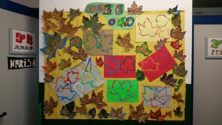 Plástica. Collage de otoño